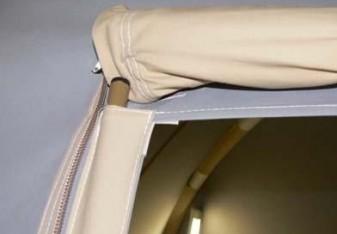 Karsten Air tent 入口pole
